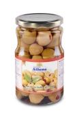 Оливки Athena 400 г фаршировані перцем с/б Новинка – ІМ «Обжора»