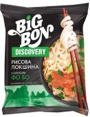 Макарони Big Bon 65 г Discovery локшина рисова з соусом Фо Бо Новинка – ІМ «Обжора»