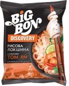 Макарони Big Bon 65 г Discovery локшина рисова з соусом Том Ям Новинка – ІМ «Обжора»