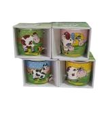 Чашка Символ року Корова в подарунковій коробці – ІМ «Обжора»