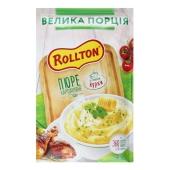 Пюре Rollton 60 г картопляне зі смаком курки пакет  Новинка – ІМ «Обжора»