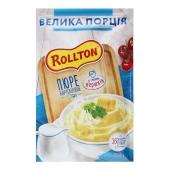 Пюре Rollton 60 г картопляне зі смаком вершків пакет  Новинка – ІМ «Обжора»