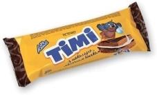 Тістечко бісквітне з шоколадно-молочним смаком Konti Timi 50 г – ІМ «Обжора»