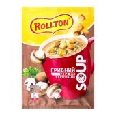 Крем-суп Роллтон 15,5г грибний з крутонами саше – ІМ «Обжора»