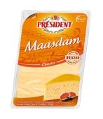 Сир Президент 150г Маасдам 46% нарізка Нiдерланди – ІМ «Обжора»