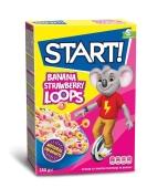 Сухий сніданок Start 250 г Banana strawbery loops Новинка – ІМ «Обжора»