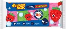 Губки кухонні потрійний ефект 5 шт Фрекен Бок Strawberry – ІМ «Обжора»