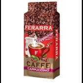 Кава Ferarra 250г caffe cappuccino мелена Новинка – ІМ «Обжора»