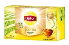 Чай Ліптон 50 п Gold – ІМ «Обжора»