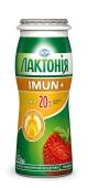 Напiй кисл/мол йогуртний Лактонія Imun+ 1,5% 100 г полуниця – ІМ «Обжора»
