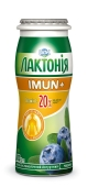 Напiй кисл/мол йогуртний Лактонія Imun+ 1,5% 100 г чорниця – ІМ «Обжора»