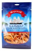 Сушений кальмар пікантний Морські 30 г – ІМ «Обжора»
