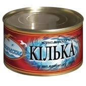 Килька черноморская обжаренная в томатном соусе Океанические  230 г – ИМ «Обжора»