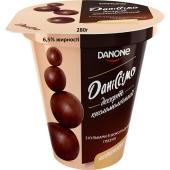 Десерт Даніссімо 6,5% 280 г з кульками в шоколадной глазурi – ІМ «Обжора»