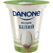 Йогурт Данон 2,5% 260 г натуральний – ІМ «Обжора»