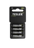 Батарейка Tesler AA ZINC CARBON R6 Соль (4 шт в блистере) – ІМ «Обжора»