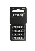 Батарейка Tesler AA ZINC CARBON R3 Соль (4 шт в блистере) – ІМ «Обжора»