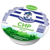 Сир кисломолочний  нежирний Простоквашино 305 г – ІМ «Обжора»