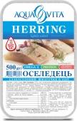 Риба Оселедець Аквавита 500г філе с/с iv шматок пласт – ІМ «Обжора»