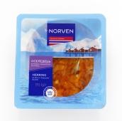 Риба Оселедець Norven 170г в пряно-пікант соусі термоформа – ІМ «Обжора»