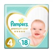 Підгузки PG PAMPERS дит. Prem. Care Maxi (9-14 кг) Упаковка 18 – ІМ «Обжора»