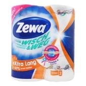 Рушники паперові Zewa Wisch&Weg Decor Extra Lang 2 шари 2 рул. – ІМ «Обжора»