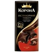 Шоколад Корона 90г екстра чорний – ІМ «Обжора»