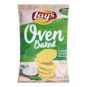 Чіпси Lays 125 г картопляні запечені йогурт і трави Новинка – ІМ «Обжора»