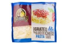 Сир Grated Mix Cheese для пасти 40% Dziugas 250 г – ІМ «Обжора»