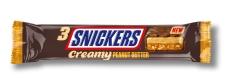 Батончик  з арахісовим маслом Snickers Creamy 54,75 г – ІМ «Обжора»