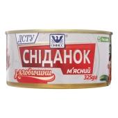 Сніданок м`ясний з яловичини Онісс 325 г – ІМ «Обжора»