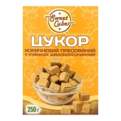 Цукор `Sweet Cubes` коричневий пресований у кубиках 250 г – ІМ «Обжора»
