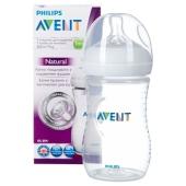 Пляшечка д/годування Avent Natural 260 мл 1 шт – ІМ «Обжора»