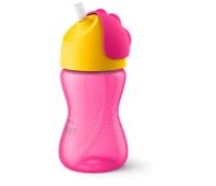 Чашка з трубочкою 12 міс. д/дівчаток SCF798/02 Avent 300 мл – ІМ «Обжора»