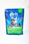 Корм сухий Brit Premium для котів Стерилайзд з куркою 300 г – ІМ «Обжора»