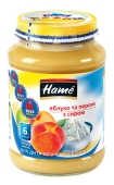 Пюре  яблуко персик сир Наmе 190 г – ІМ «Обжора»