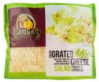 Сир Grated Mix Cheese для салату 40% Dziuca 250 г – ІМ «Обжора»