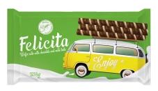 Вафельні трубочки шоколадно-молочний смак Марія Felicita 150 г – ІМ «Обжора»