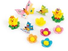 Набір декорацій Украса Курчата Метелики та квіти – ІМ «Обжора»