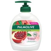 Крем-мило д/рук рідке Натурель Вітамін B і Гранат Palmolive 300 мл – ІМ «Обжора»