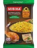 Вермішель зі смаком курячого бульону негостра Мівіна 59,2 г – ІМ «Обжора»