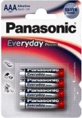 Батарейка 1шт Panasonic EVERYDAY POWER AAA BLI 4 ALKALINE – ІМ «Обжора»