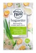 Сухарики вершки та цибулька Flint Baguette 60 г – ІМ «Обжора»