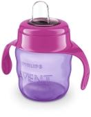 Чашка-непроливайка з м`яким носиком рожева 6 міс. SCF551/03 Avent 200 мл – ІМ «Обжора»
