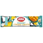 Батончик зерновий йогурт тропічні фрукти АХА 25 г – ІМ «Обжора»