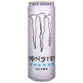 Напій енергетичний Ultra ж/б MONSTER 0.355 л – ІМ «Обжора»