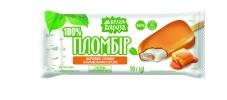 Морозиво Пломбір з карамельним соусом ескімо Белая Бяроза 90 г – ІМ «Обжора»