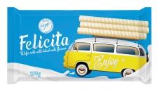 Вафельні трубочки пряжене молоко Марія Felicita 150 г – ІМ «Обжора»