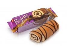 Рулет PERFETTO какао- крем Бісквіт-шоколад ХБФ 130  г – ІМ «Обжора»