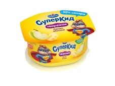 Паста для дітей  банан-яблуко Савушкін продукт 3,5% 110 г – ІМ «Обжора»